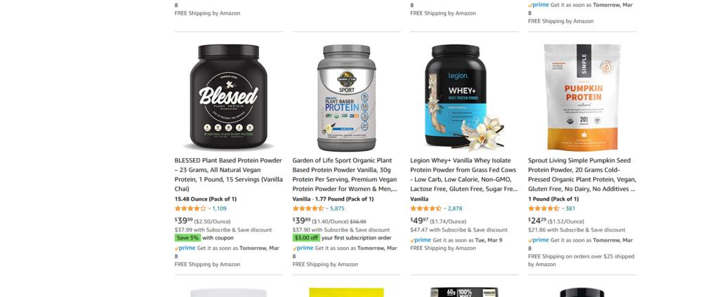 sensitive protein powder